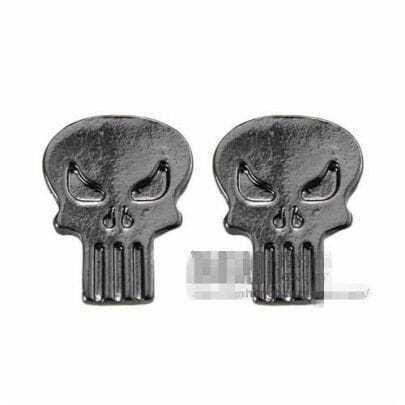 Black Skull Earrings