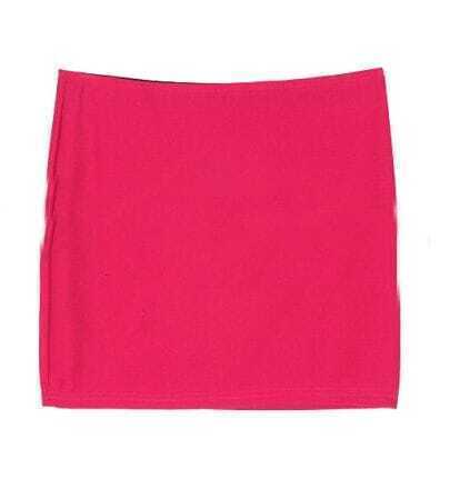 Rose Red Joker Mini Sexy Package Skirt