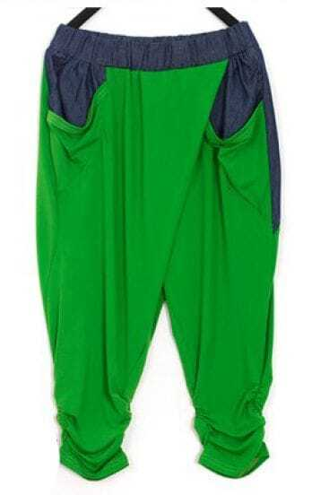 Green Brief Joker Pants