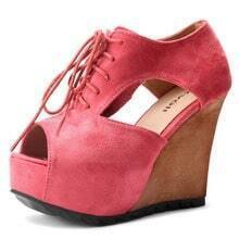 Pink Suede 115mm Pumps