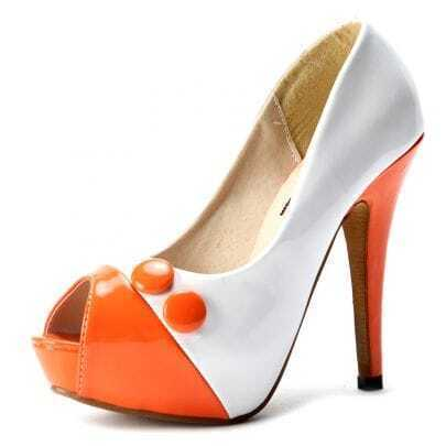 White Patent Leather 125mm Pumps