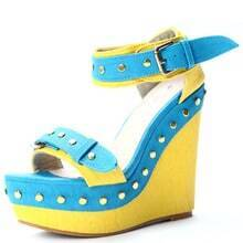 Yellow PU Rivet 135mm Wedges