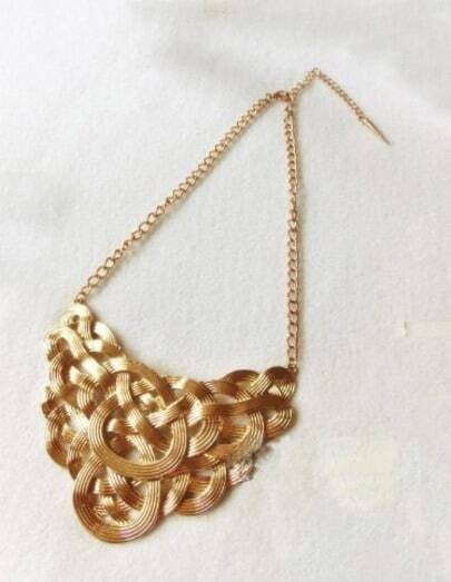 Vintage Gold Multi-layer Necklace