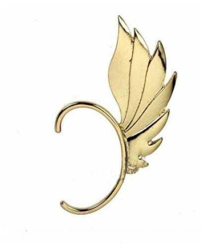Gold-tone Winged Ear Cuff