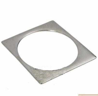 Silver Square Bangle Bracelet