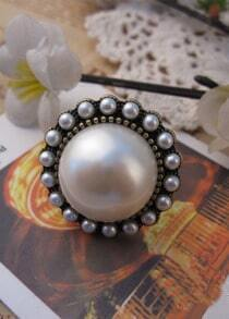 Pearl Embellished Ring