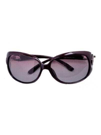 Red Fashion Plastic Frame Wayfarer Sunglasses