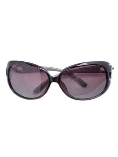 Rose Red Fashion Plastic Frame Wayfarer Sunglasses