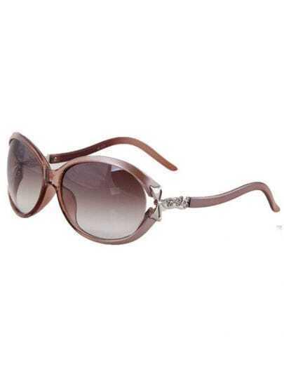 Onyx Plastic Fashion Butterfly Sunglasses