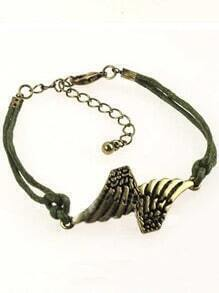 Gold Wing Link Bracelet
