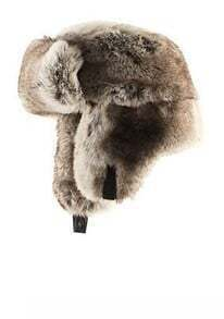 Light Brown Faux Fur Trapper Hat