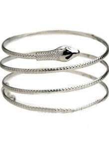 Silver Winding snake Bracelet