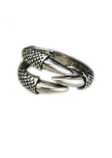 Silver Vintage Alondra Bangle Bracelet