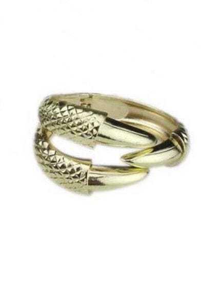 Gold Alondra Bangle Bracelet
