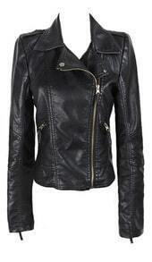 2013 Fashion New Black Zipper Jacket