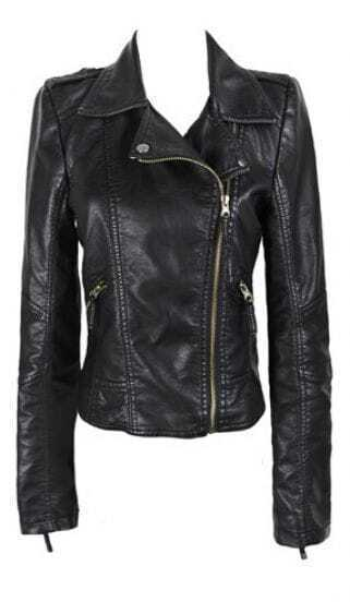 2013 Fashion New Black Zipper Jacket