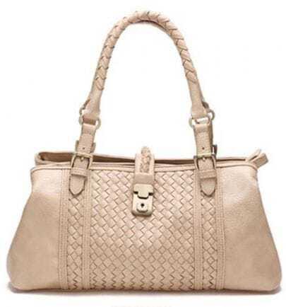 Light Apricot Diamondback Convertible Tote Handbag