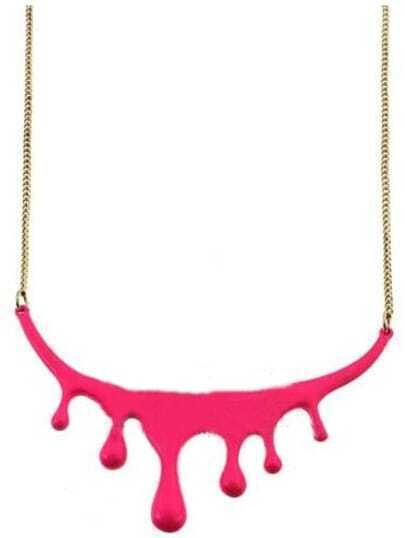 Red Drop of blood Necklace