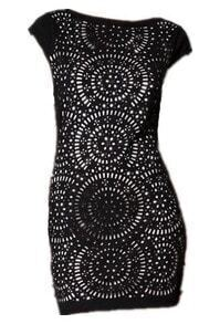 Black Sleeveless Hollow Backless Elasic Dress