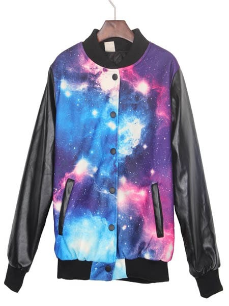 Galaxy Cat Shirts For Girls With A Collar