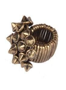 Gold Rivet Ring