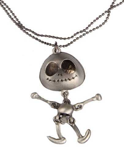 Silver Doll Boy Chain Necklace