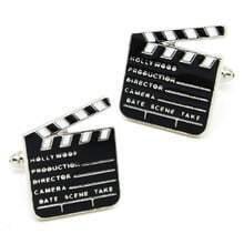 Black Movie Slates Board Cufflinks
