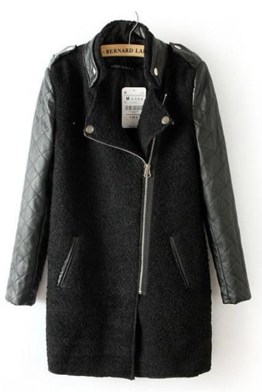 Find great deals on eBay for black jacket with leather sleeves. Shop with confidence.