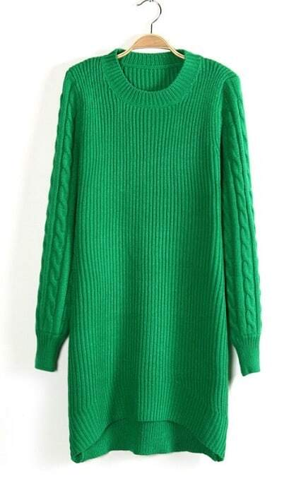 High Low Sweater Dress High-low Sweater Dress