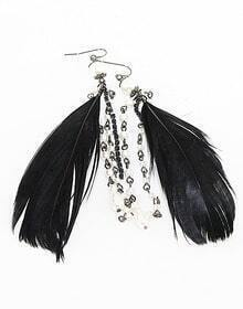 Graceful Hot Feather Earrings