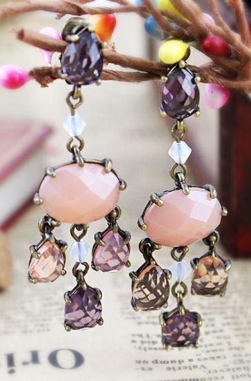 Elegant New Style Vintage Rhinestone Earring