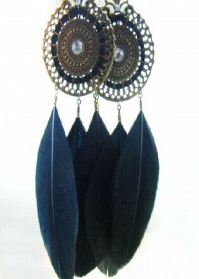 New Design Tassel Feather Earring