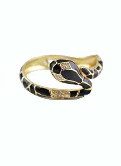 Vintage Star Favorite Elegant Black Snake Bracelet