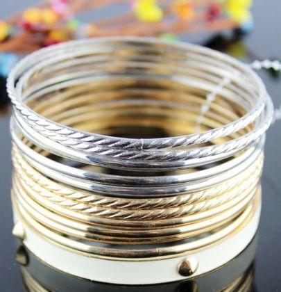 Designer Charm Multilayer Vintage Bracelet