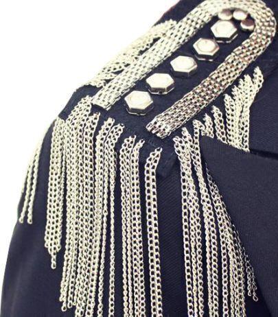 Graceful Individual Spike Tassel Cool Design Brooch