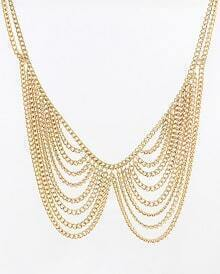 Star's Favorate Elegant Tassels Choker Necklace