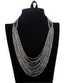 Graceful Bohemia Luxury Bead Tassel Necklace