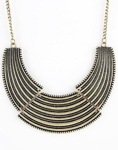 Vintage Luxury Alloy Punk Collar Necklace