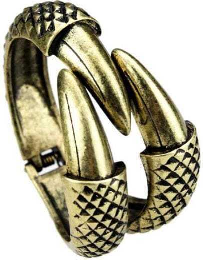 Fashion Paw Retro Gold Claw Bracelet