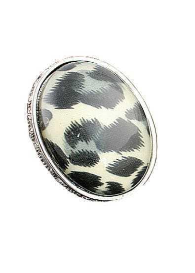 Vintage Elegant Concise Leopard Jewel Ring
