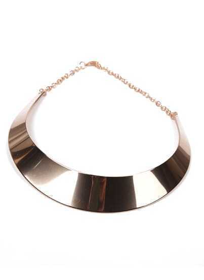 Latest Style Gold Collar Necklace