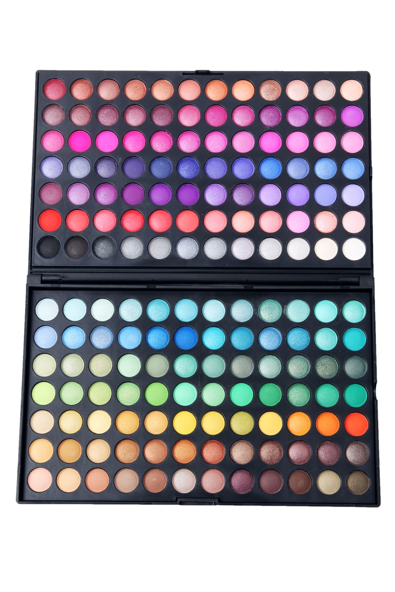 Makeup Palettes: 168 Color Makeup Cosmetics Eyeshadow Palette -SheIn(Sheinside