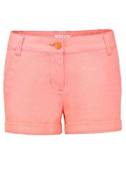 Orange Street Pockets Straight Shorts