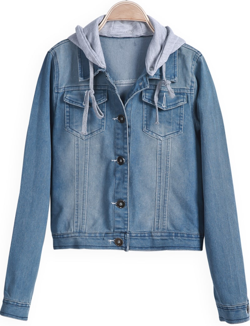 Free shipping BOTH ways on denim jacket with hood, from our vast selection of styles. Fast delivery, and 24/7/ real-person service with a smile. Click or call