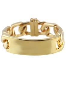 Gold Fashion Hollow Chain Bracelet