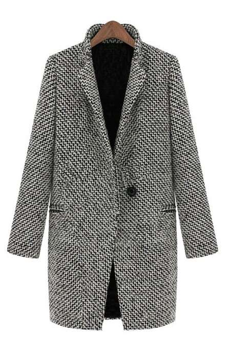 The Classic Black and White Houndstooth in Fine Wool