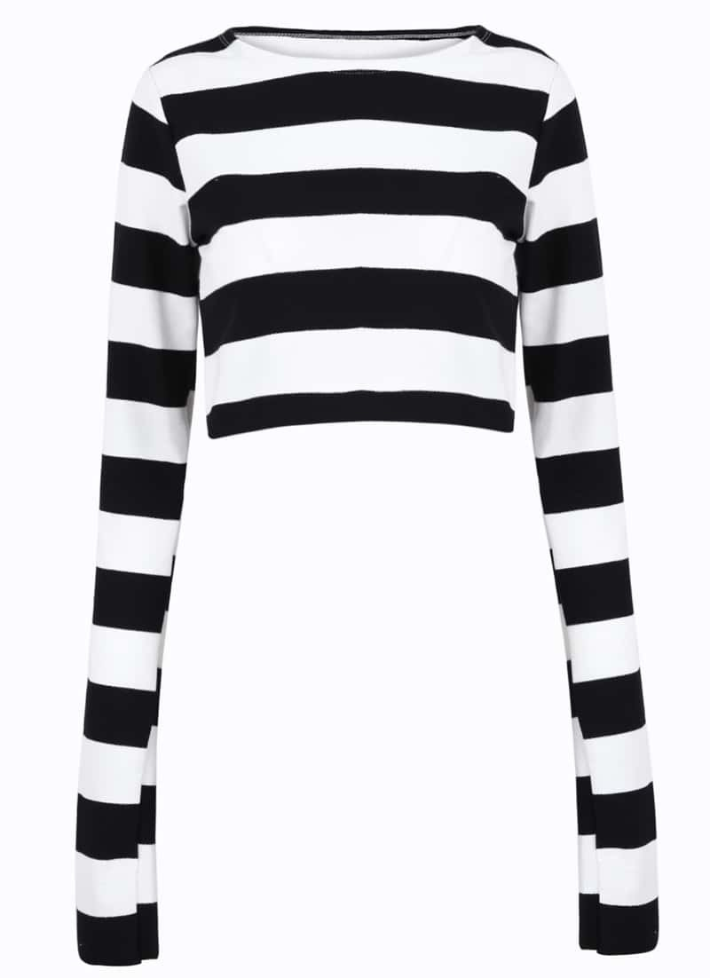 Black t shirt with white stripes - Striped T Shirt Black And White Striped T Shirt 60s Mods Brian It