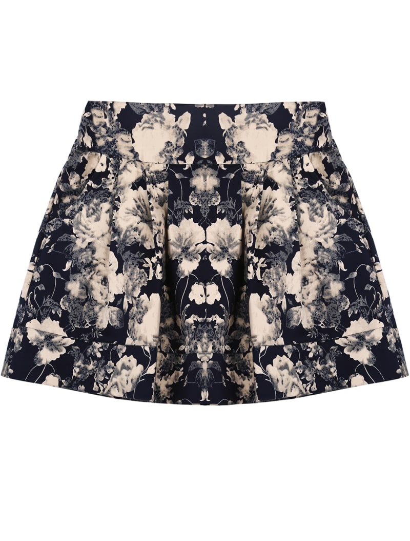 Elastic Waist Skirt Pattern 75