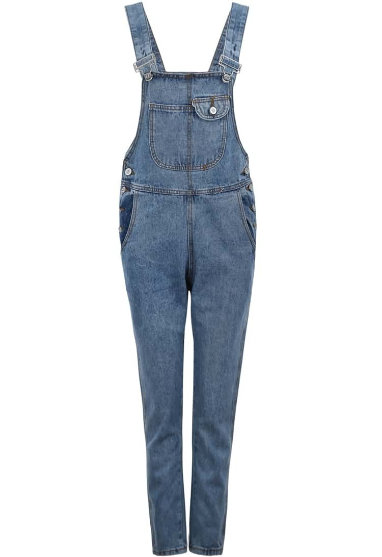 Denim Sleeveless Jumpsuit | Fashion Ql