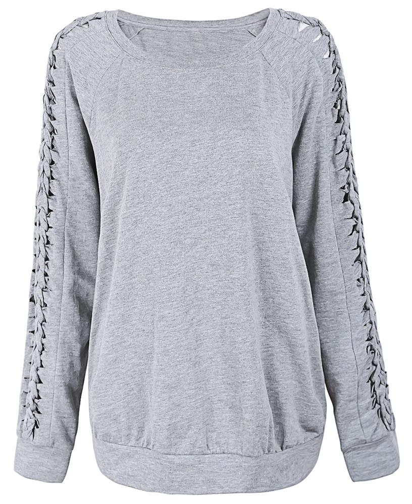 how to cut an 80s sweatshirt